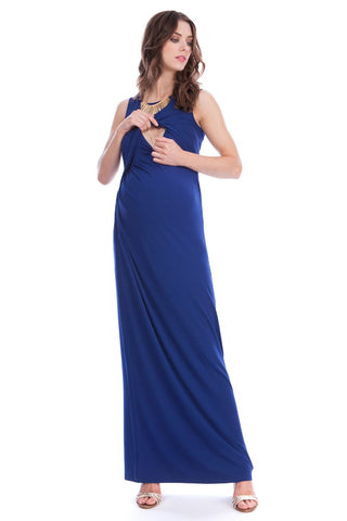 Seraphine Maternity & Nursing Maxi Dress Lexington