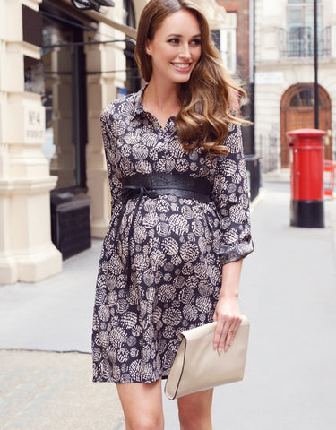 Seraphine Maternity & Nursing Shirt Dress Tara, Maternity Dresses Canada Nursing Dresses Canada,- Luna Maternity & Nursing
