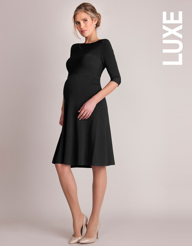Seraphine V-Back Luxe Maternity Dress Christine - Size Small, Formal Maternity Dresses Toronto GTA Canada,- Luna Maternity & Nursing