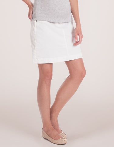Seraphine Denim Maternity Skirt - Allie, Sale,- Luna Maternity & Nursing