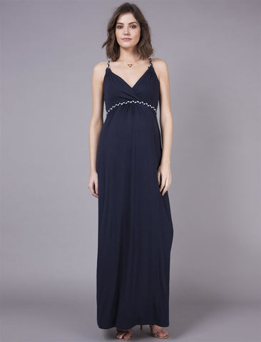 Seraphine Maternity & Nursing Maxi Dress Jemima