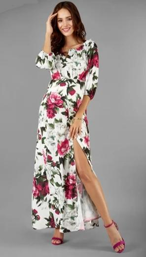 Elpasa Maternity & Nursing Maxi Dress Rosia SALE, Maternity Dresses Canada Nursing Dresses Canada,- Luna Maternity & Nursing
