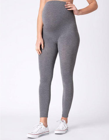 Seraphine Bamboo Maternity Leggings Tammy – Grey & Black Twin Pack