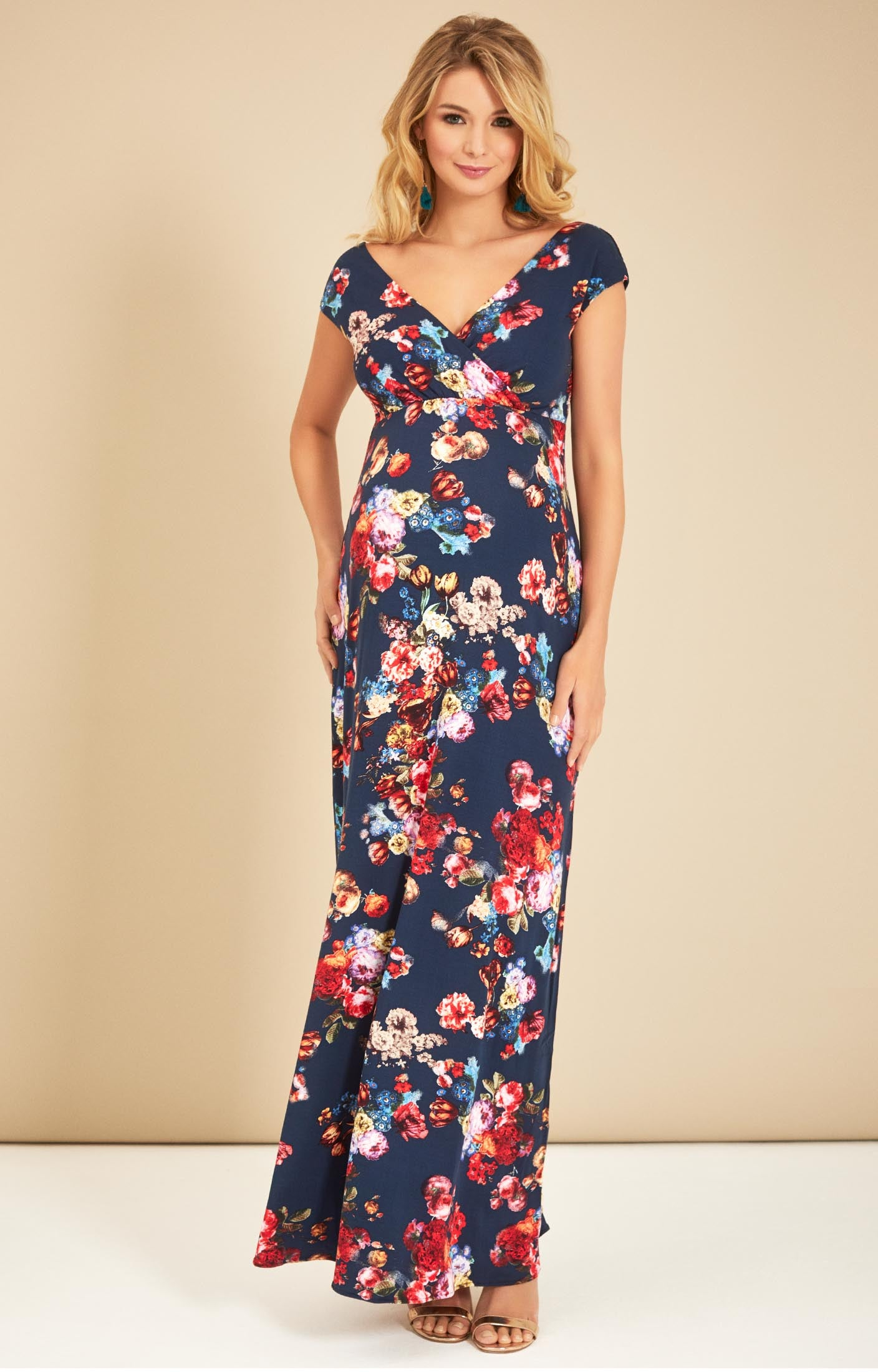 ea41bf42b4a05 Tiffany Rose Maternity & Nursing Alana Maxi Dress Midnight Garden Was  $330.00, now $220.00 SALE   Up To 50% Off
