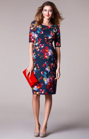 Tiffany Rose Maternity Shift Dress Anna Midnight Garden