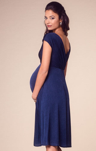 Tiffany Rose Maternity Nursing Dress Alessandra Navy Canada