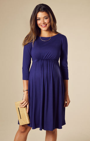 Tiffany Rose Maternity Dress Cathy Eclipse Blue