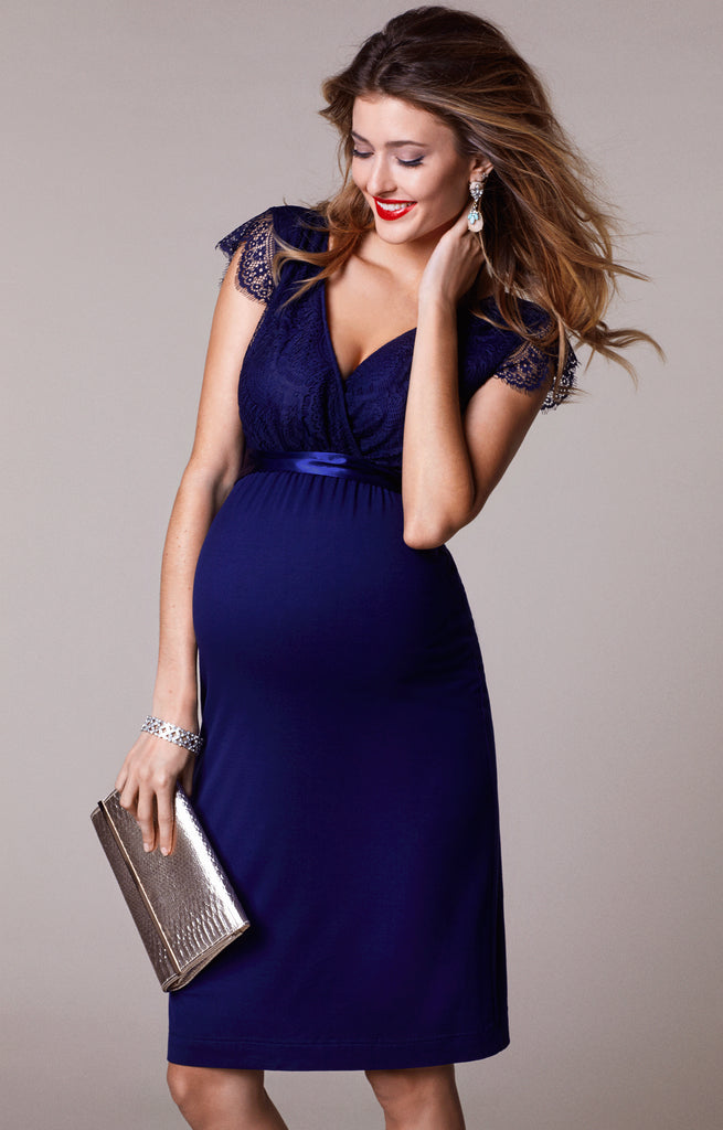 Tiffany Rose Maternity & Nursing Dress Rosa Indigo