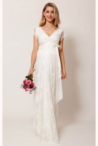 Tiffany Rose Eden Lace Maternity & Nursing Gown Ivory Dream, Maternity Dresses Canada Nursing Dresses Canada,- Luna Maternity & Nursing