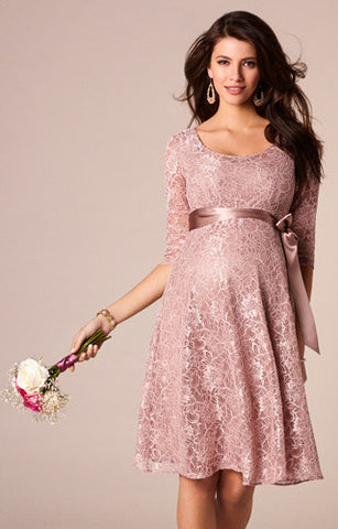 Tiffany Rose Maternity Lace Dress Freya, Formal Maternity Dresses Toronto GTA Canada,- Luna Maternity & Nursing