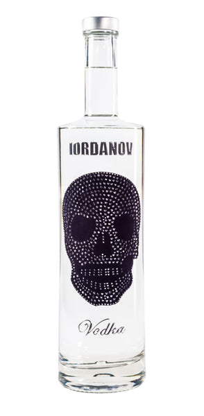 Iordanov Vodka Skull Edition ANTHRAZIT