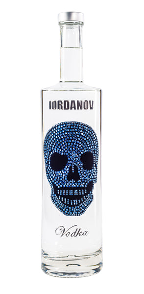 Iordanov Vodka Skull Edition BLAU