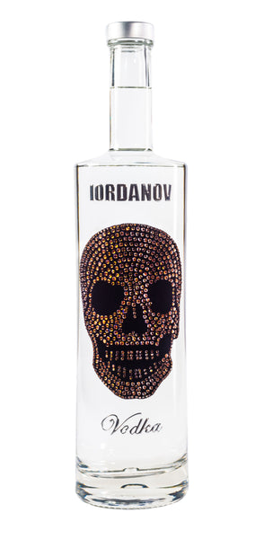 Iordanov Vodka Skull Edition BRAUN