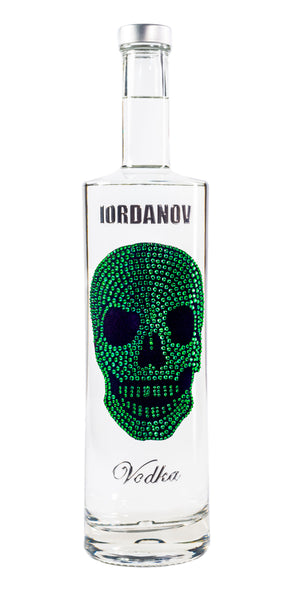 Iordanov Vodka Skull Edition GRÜN