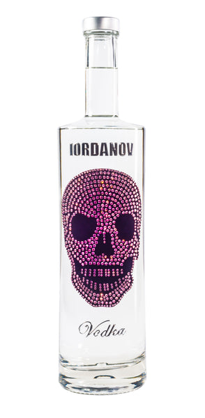 Iordanov Vodka Skull Edition DARKPINK