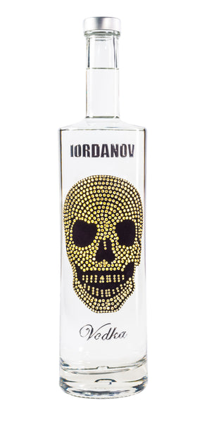 Iordanov Vodka Skull Edition LIGHTGOLD
