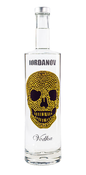 Iordanov Vodka Skull Edition GOLD