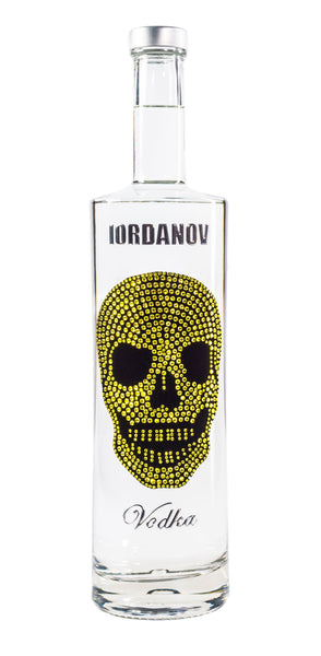 Iordanov Vodka Skull Edition GELB