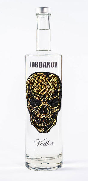 Iordanov Vodka Skull Edition BADSKULL GOLD