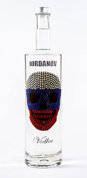 Iordanov Vodka Skull Edition RUSSIA