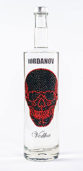 Iordanov Vodka Skull Edition BLACK LEGEND