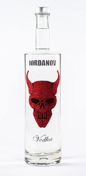 Iordanov Vodka Edition DEVIL SKULL