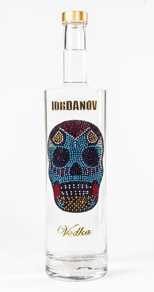 Iordanov Vodka Skull Edition MEXICAN