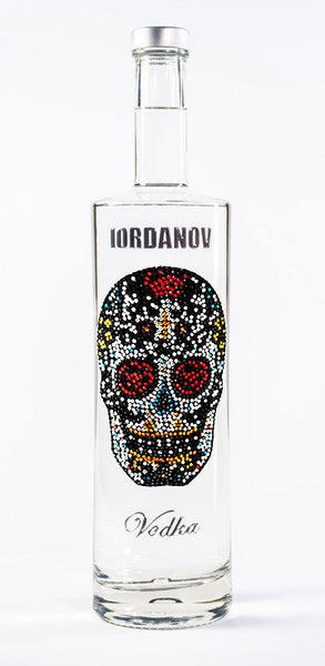 Iordanov Vodka Skull Edition SUGARSKULL