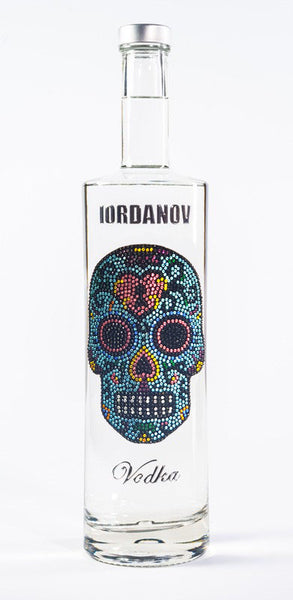 Iordanov Vodka Skull Edition ANNA