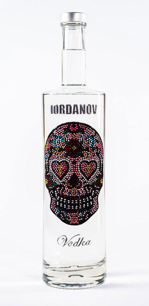 Iordanov Vodka Skull Edition LOVESKULL