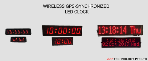 LED Digital Lock, Synchronized Digital Lock System, Wireless Digital Clock