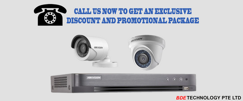 CCTV Promotions, Discounts, Call Us, BDE Technology