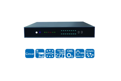 16CH Network Video Recorder (NVR)