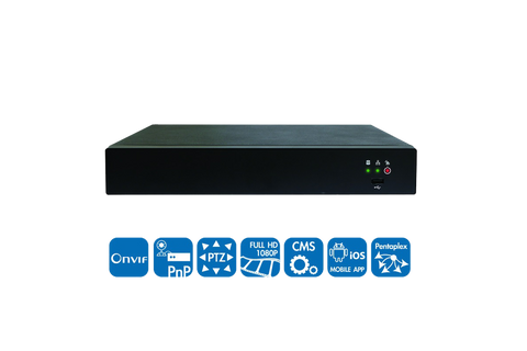 8CH Network Video Recorder (NVR)