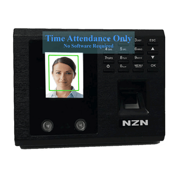 Time Attendance Reader, Fingerprint Reader, Facescan, Reader, Biometric, Excel Reportfor Attendance