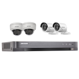 IR CCTV Camera with Digital Video Recorder (DVR)