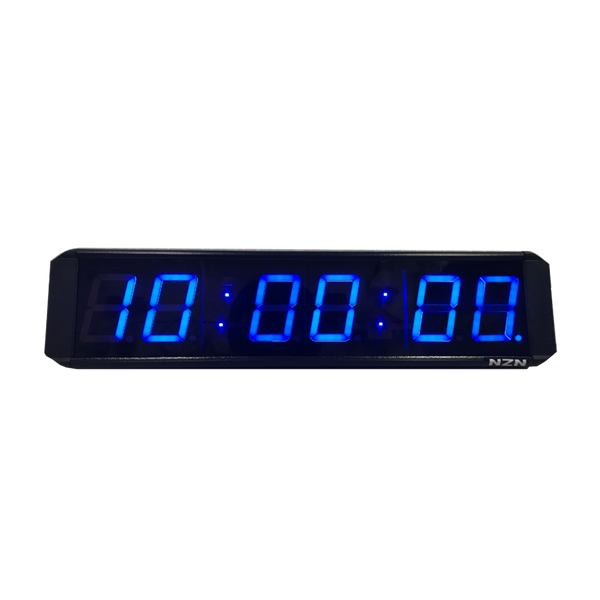 NZN 6CM Multi-Colour LED Digital Clock HH:MM:SS