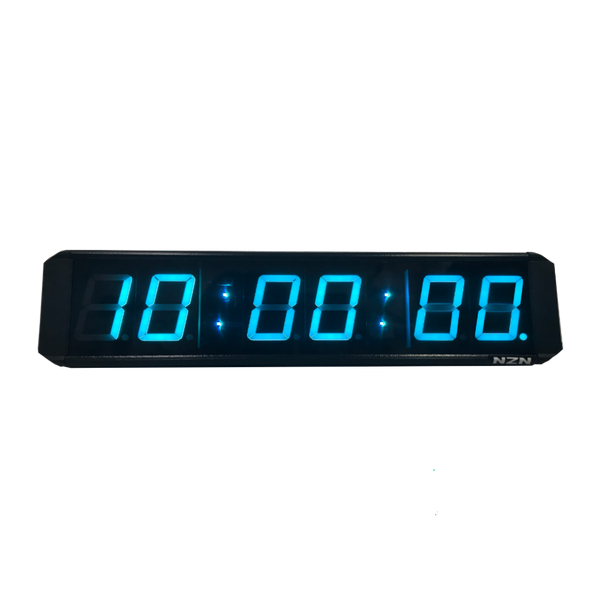 6cm GPS-Synchronized LED Multi-Colour Digital Clock