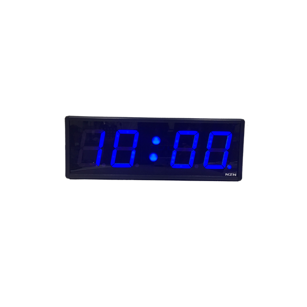 NZN 10CM Multi-Colour  LED Digital Clock HH:MM