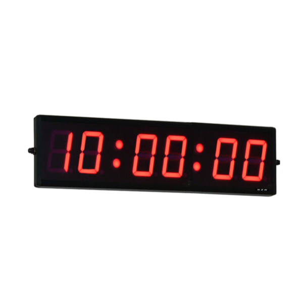 NZN 10CM RED LED Digital Clock HH:MM:SS