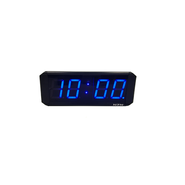 NZN 6CM Multi-Colour LED Digital Clock HH:MM