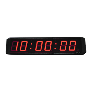 NZN 6CM RED LED Digital Clock HH:MM:SS