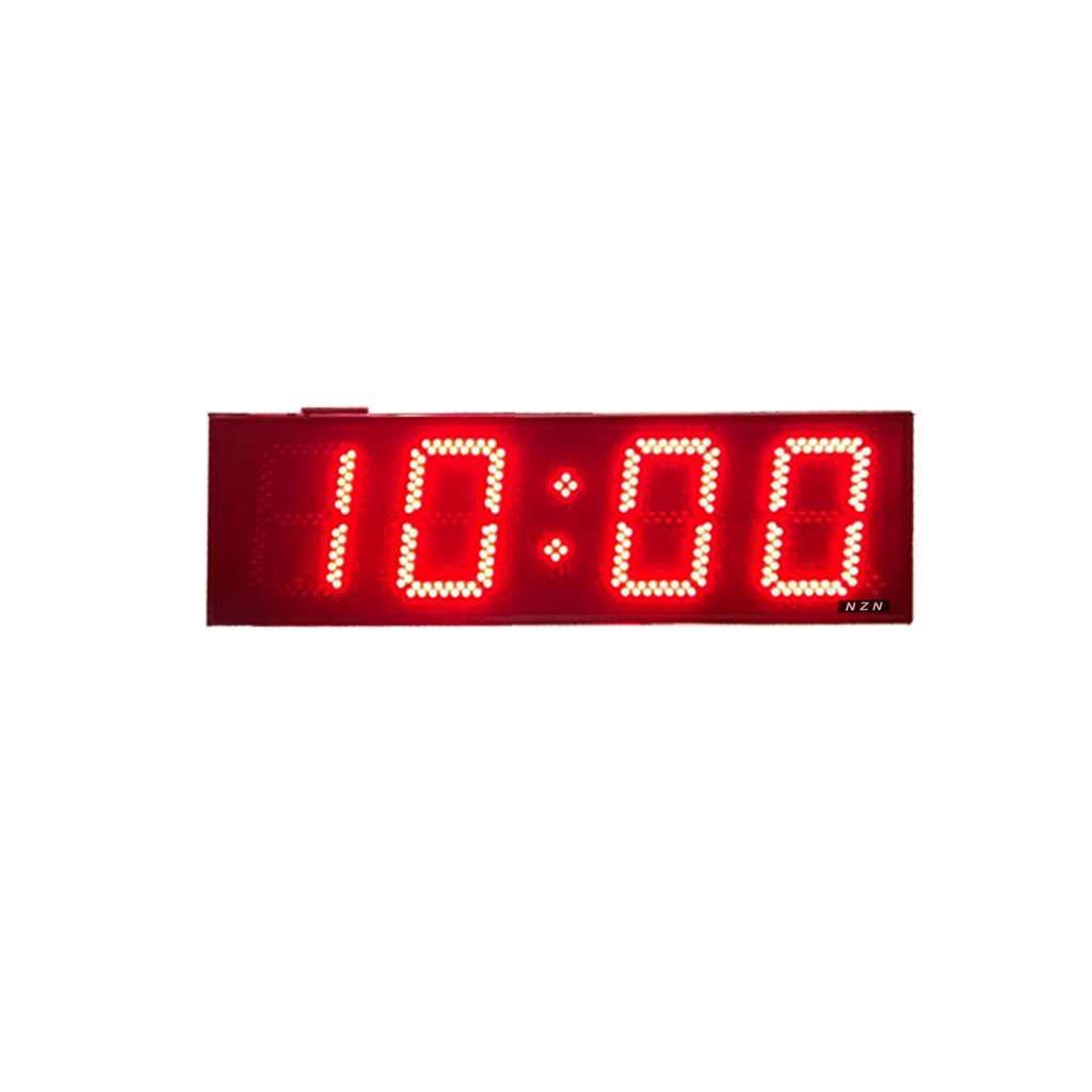 20CM GPS-Synchronized LED Clock (HH:MM)