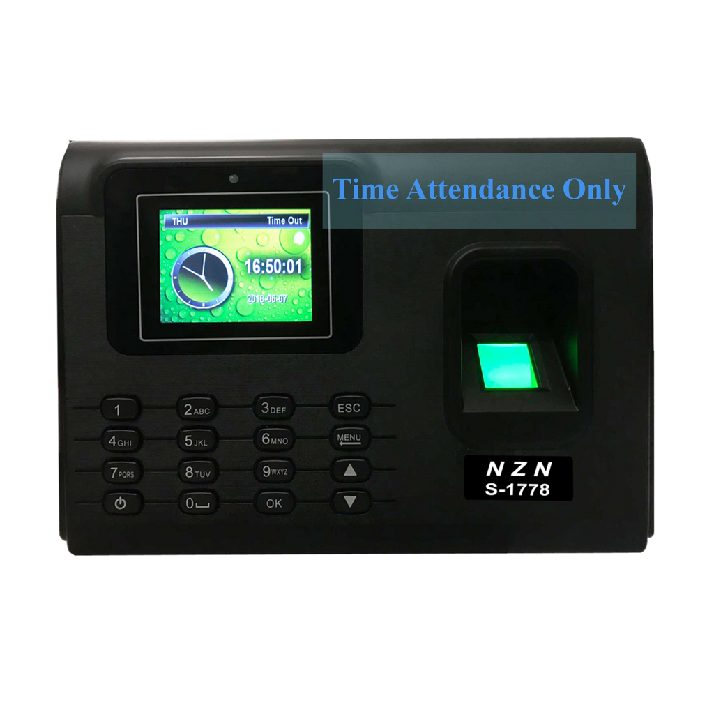 Time Attendance Reader, Fingerprint Reader, Biometric, Excel Report for Attendance
