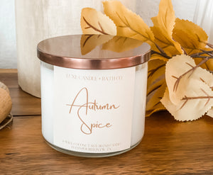 Autumn Spice (3 Wick Candle)