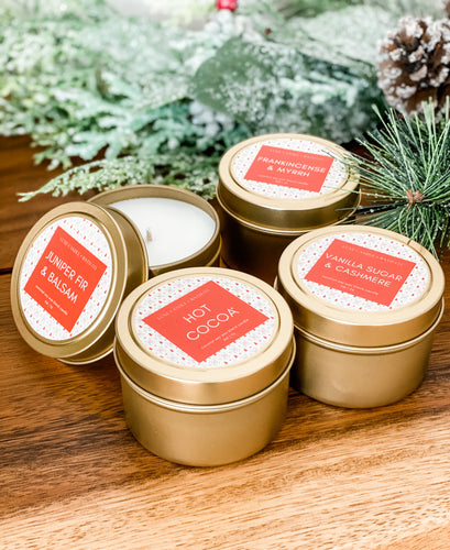 Holiday Collection Luxe Gold Tins
