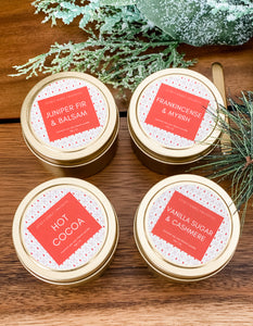 Holiday Collection Small Luxe Gold Tin Bundle