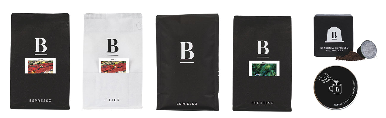 our range of ethical and sustainable coffee