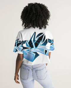 Wildstyle Decade Women's Lounge Cropped Tee