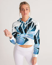 Load image into Gallery viewer, Wildstyle Decade Women's Cropped Hoodie